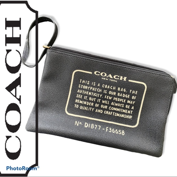 Never used Authentic Coach Mini wristlet